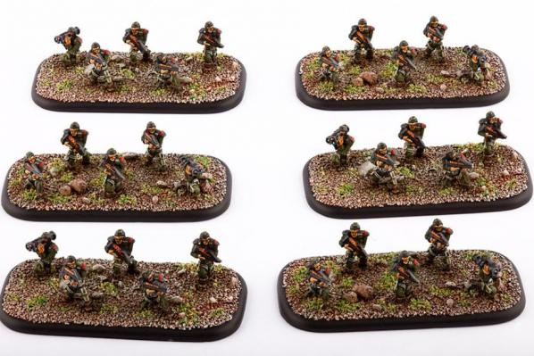 Dropzone Commander: (United Colonies Of Mankind) Colonial Legionnaires (6)