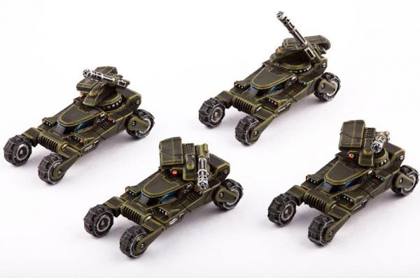 Dropzone Commander: (United Colonies Of Mankind) Wolverine Scout Buggy (4)