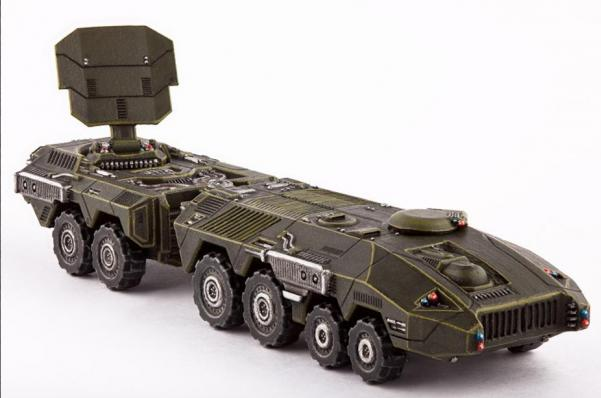 Dropzone Commander: (United Colonies Of Mankind) Kodiak Armoured Command Vehicle (1)