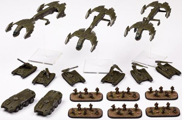 Dropzone Commander: (United Colonies Of Mankind) Starter Army Box