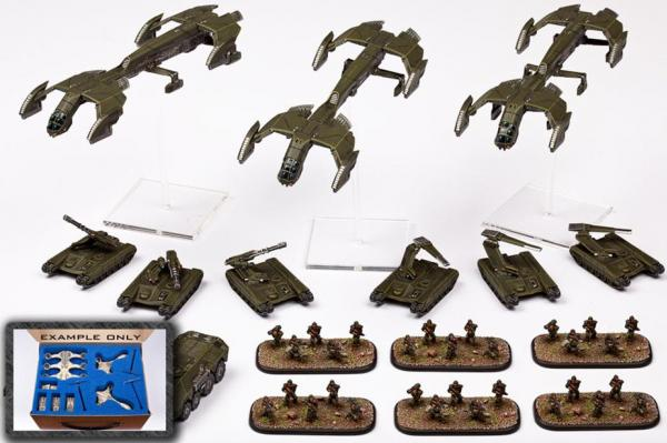 (United Colonies Of Mankind) Premium Starter Army w/Case