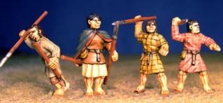 SAGA: Viking Age: (Scots) Doer-Chele w/Javelins (Levy)