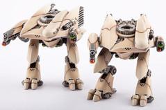 (Post-Human Republic) Ares Battle Walkers (2)