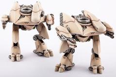 (Post-Human Republic) Menchit Battle Walkers (2)