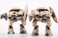 (Post-Human Republic) Zeus Command Walkers (2)