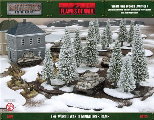 Battlefield in a Box: Small Pine Wood - Winter