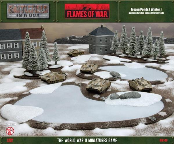 Battlefield in a Box: Frozen Ponds - Winter