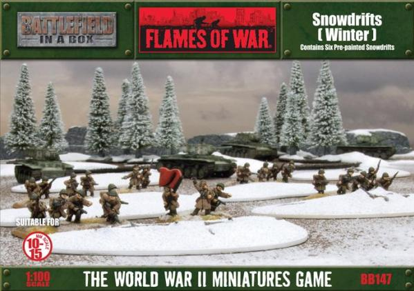 Battlefield in a Box: Snowdrifts - Winter