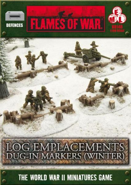 Battlefield in a Box: Log Emplacements - Dug In - Winter