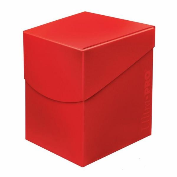 Pro 100+ Red Deck Box