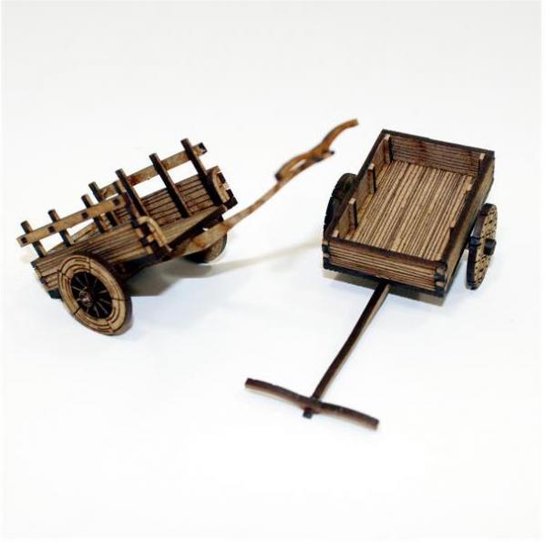 28mm Terrain: Peasants Cart