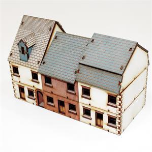 15mm European Buildings: Pre-Painted Terrace