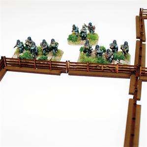 15mm Terrain & Obstacles: Fencing Sections