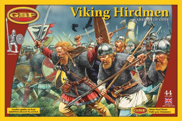 28mm Historical: Viking Hirdmen - Warriors Of Odin (plastic)