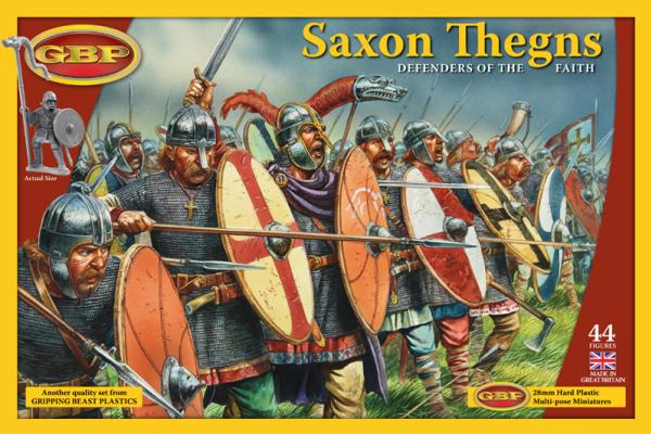 28mm Historical: Saxon Thegns - Defenders Of The Faith (Plastic)