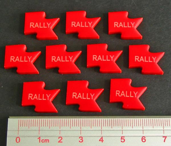Rally Tokens Red (10)