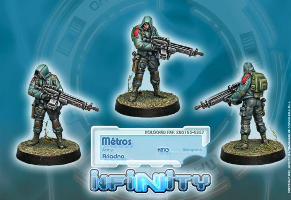 Infinity (#357) Ariadna: Metros, Troupes Metropolitaines
