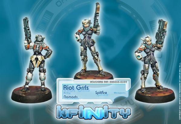 Infinity (#359) Nomads: Riot Grrls (Spitfire)