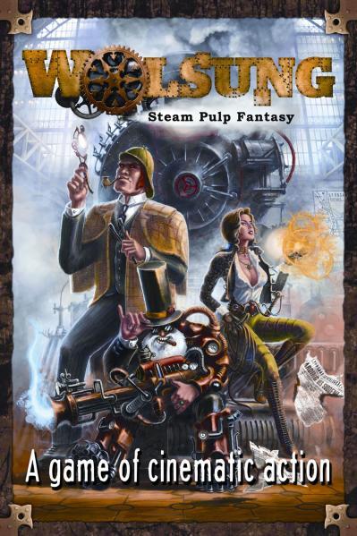 Wolsung: Steam Pulp Fantasy