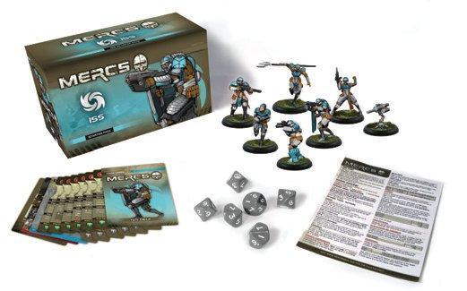 Mercs Minis - ISS: Starter Pack