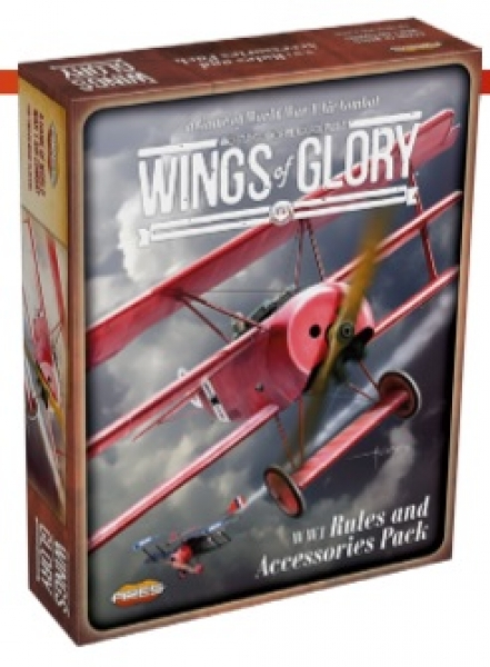 Wings Of Glory (WWI): Rules & Accessories Pack