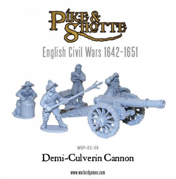 28mm Pike & Shotte - Demi-Culverin & Crew