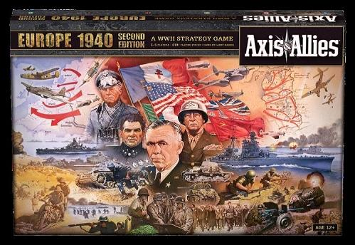 Axis & Allies Board Game: Europe 1940 [2nd Edition]