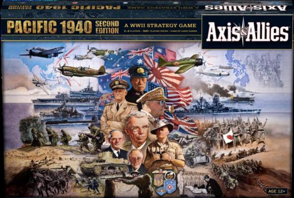 Axis & Allies Board Game: Pacific 1940 [2nd Edition]