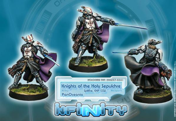 Infinity (#361) PanOceania: Knight Of The Holy Sepulchre (Spitfire)