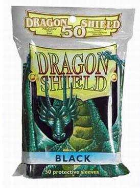 Black Card Sleeves (50)