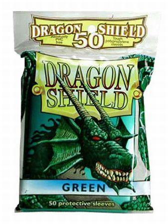 Green Card Sleeves (50)