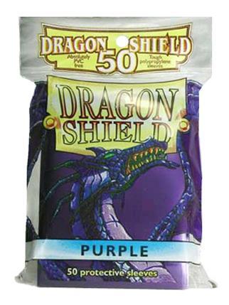 Purple Card Sleeves (50)