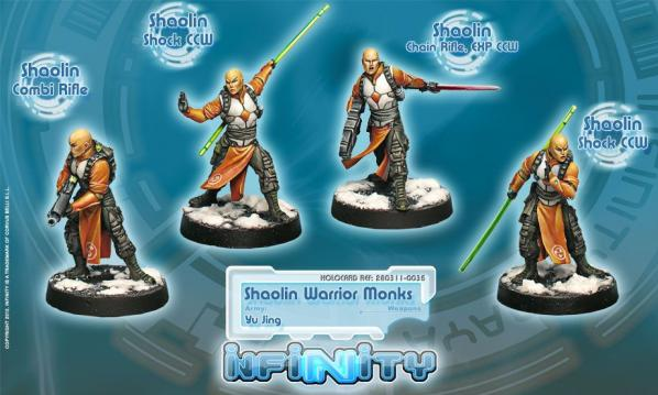 Infinity (#035) Yu Jing Shaolin Warrior Monks (Combi Rifle,Chain Rifle) (4)