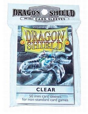 Dragon Shields: Clear Mini-Sleeves (50)