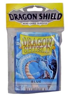 Dragon Shields: Blue Mini-Sleeves (50)