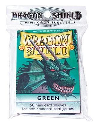Dragon Shields: Green Mini-Sleeves (50)