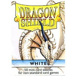 Dragon Shields: White Mini-Sleeves (50)