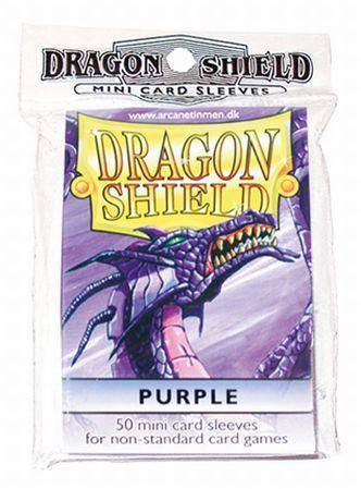 Dragon Shields: Purple Mini-Sleeves (50)
