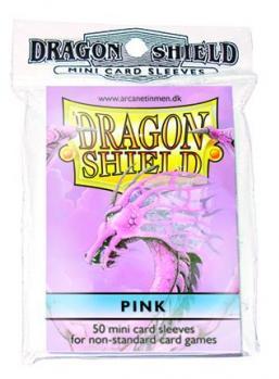 Pink Mini-Sleeves (50)