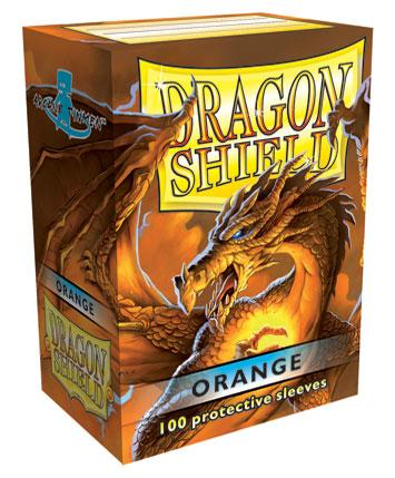 Dragon Shields: Classic Orange Card Sleeves (100)