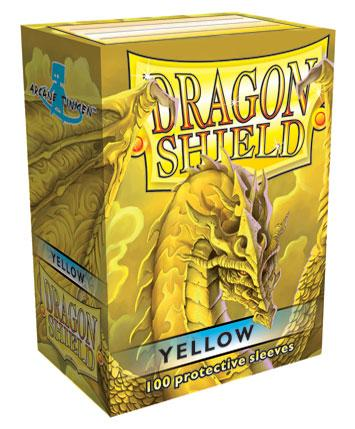 Dragon Shields: Classic Yellow Card Sleeves (100)