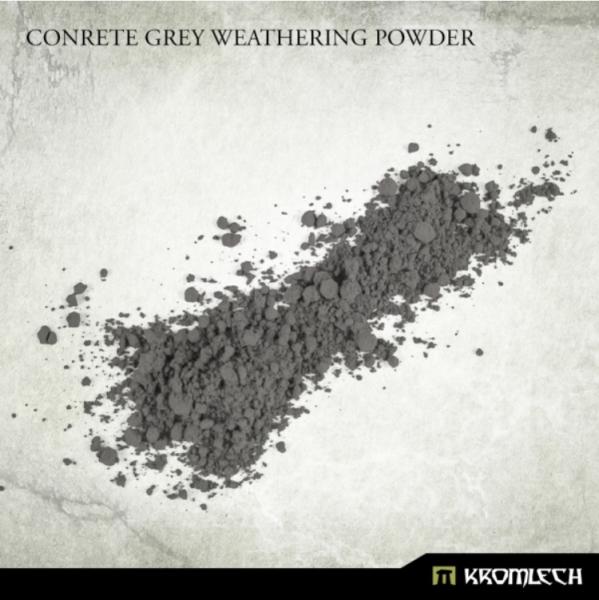 Kromlech Accessories: Concrete Grey Weathering Powder