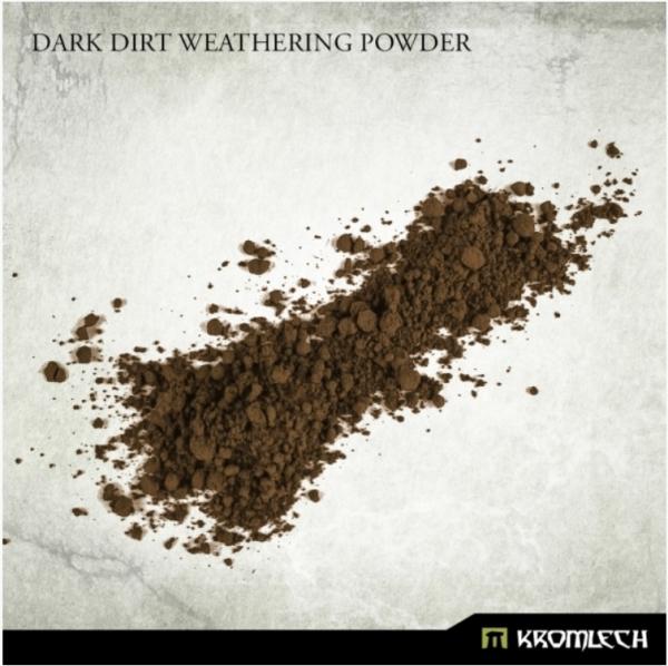 Kromlech Accessories: Dark Dirt Weathering Powder