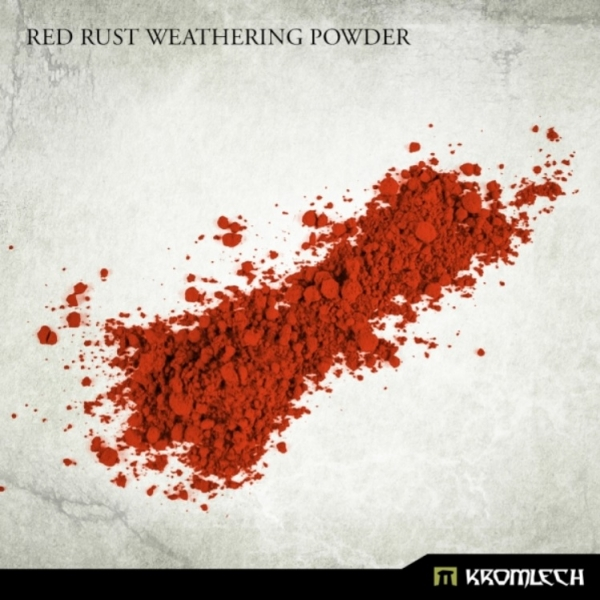 Kromlech Accessories: Red Rust Weathering Powder