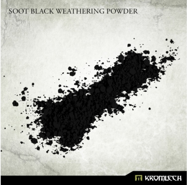 Kromlech Accessories: Soot Black Weathering Powder