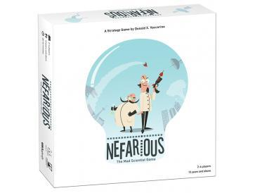 Nefarious: The Mad Scientist Game