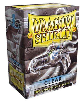 Dragon Shields: Classic Clear Card Sleeves (100)