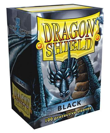 Dragon Shields: Classic Black Card Sleeves (100)