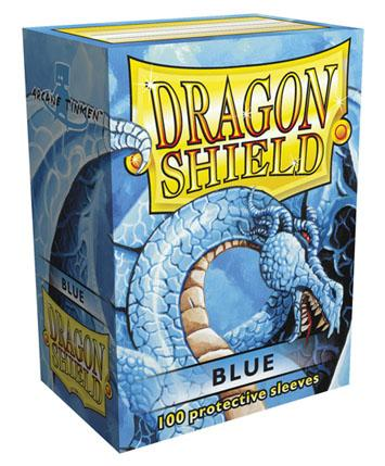 Dragon Shields: Classic Blue Card Sleeves (100)