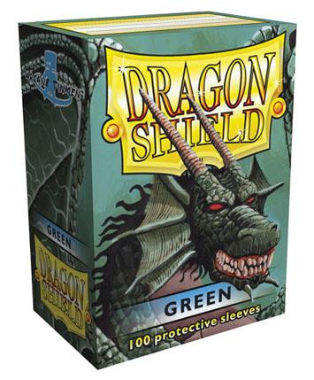 Dragon Shields: Classic Green Card Sleeves (100)